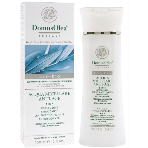 Anti-age micellar water - 5 in 1 - Domus Olea Toscana