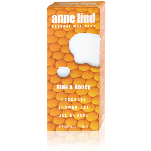 Gel doccia Milk & Honey - Anne Lind -  Annemarie Borlind
