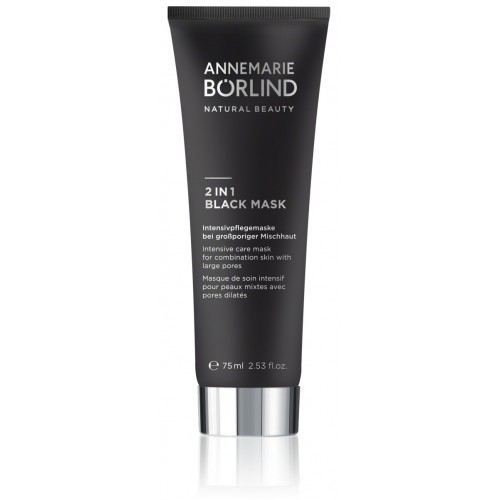 Beauty Extras - 2 in 1 Black Mask - Annemarie Borlind