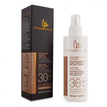 Staminalis - Spray solare SPF 30 - Glass Onion