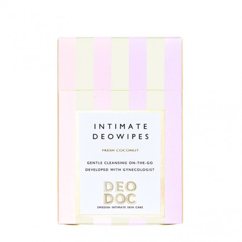 Intimate DeoWipe - Fresh Coconut - DeoDoc