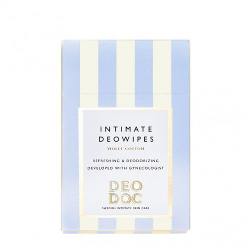 Intimate DeoWipe - Violet Cotton - DeoDoc